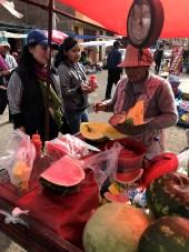 El mercado en Juliaca