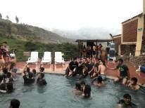 Carnaval Pool Party in (Guapan) Azogues, Ecuador