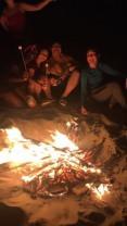 Bonfire in Playas, Guayas